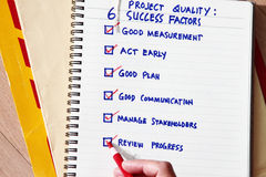 Success factors Stock Image