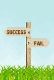 Success or fail Stock Photos
