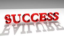 Success-failure. Contrast 3d concept Stock Image