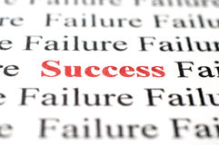 Success among failure Stock Photography