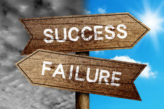 Success Or Failure Stock Photo
