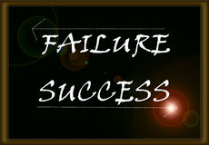 Success or failure Royalty Free Stock Image