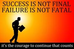 Success failure Royalty Free Stock Image