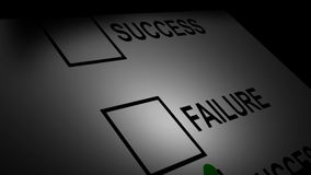 Success and Failure Scroll Stock Images