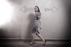 Success - Failure Royalty Free Stock Images