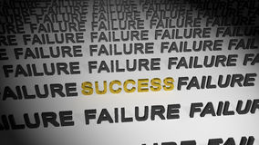 Success in failures Royalty Free Stock Photo