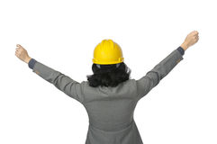 Success Female Architect Royalty Free Stock Photo