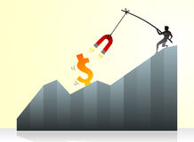 Success Forex Magnetism Royalty Free Stock Image