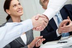 Success gesture Stock Image