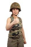 Success gesture Stock Images