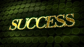 Success Glitter Glitz Sparkle Text Royalty Free Stock Images