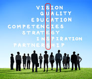 Success Goal Target Victory Strategy Vision Concept Royalty Free Stock Photography