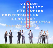 Success Goal Target Victory Strategy Vision Concept Stock Photo