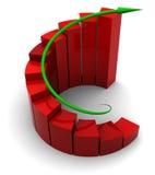 Success graph Stock Photo
