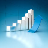 Success graph Stock Images