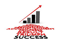 Success and growth Stock Images