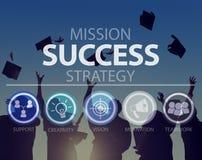 Success Growth Accomplishment Achievement Goal Concept.  Royalty Free Stock Photography