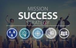 Success Growth Accomplishment Achievement Goal Concept.  Stock Photos