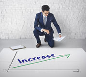 Success Growth Development Achievement Concept Royalty Free Stock Photography