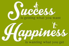 Success happiness Royalty Free Stock Images