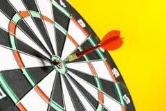 Success hitting target Royalty Free Stock Image