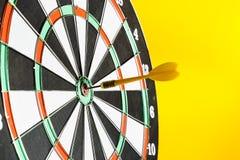 Success hitting target Royalty Free Stock Images