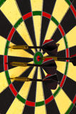 Success hitting target aim goal achievement concept background Stock Photography