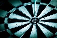 Success hitting target aim goal achievement Stock Image