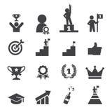 Success icon set Royalty Free Stock Photo