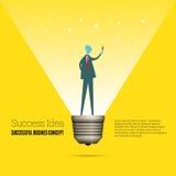 Success Idea Concept Royalty Free Stock Photos