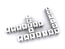 Success and ideas Royalty Free Stock Photos