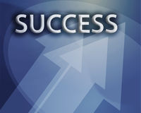 Success illustration Stock Photo