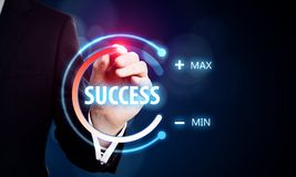 Success and innovation concept stock photos