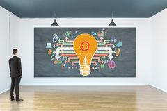 Success and innovation concept stock photography