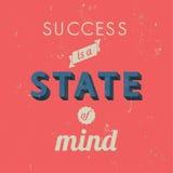 Success inspirational poster Stock Photography