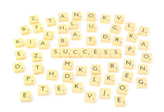 Success (isolated) Royalty Free Stock Photo