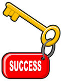 Success key Royalty Free Stock Photos
