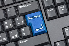 Success Key Computer Keyboard Royalty Free Stock Image