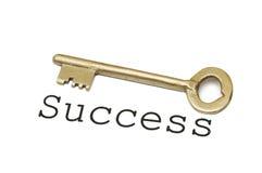 Success key. On white background Stock Photo