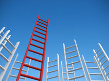 Success ladder Royalty Free Stock Photography