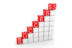 Success Ladder Stock Photos