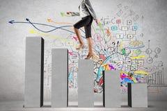 On success ladder Stock Photos