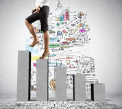 On success ladder Stock Images