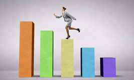On success ladder Royalty Free Stock Photography