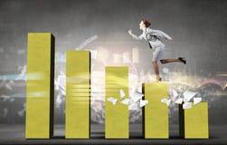 On success ladder Stock Image