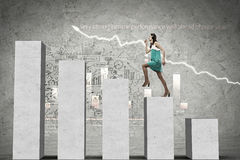 On success ladder Royalty Free Stock Images