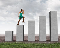On success ladder Stock Photography