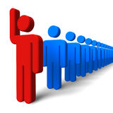 Success/leadership concept stock illustration
