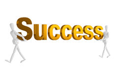 Success letter  in isolate with clipping path Stock Photos