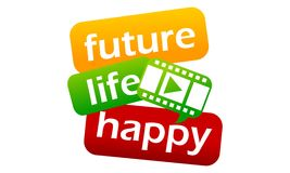 Success Life Coaching Education Video Stock Images